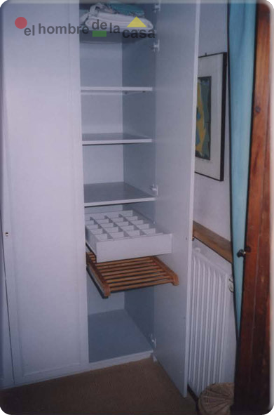 Organizacion interior armarios for Guias para baldas