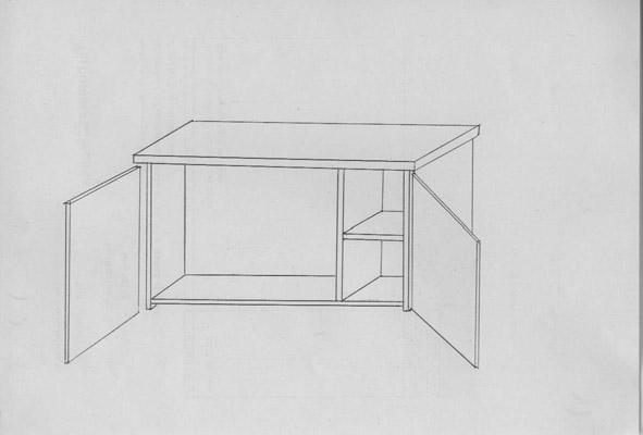 Mano alzada dibujos - Mueble zapatero a medida ...